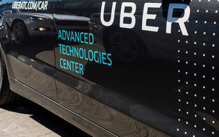Ubers Roboautos wieder in San Francisco