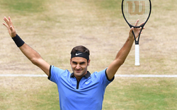 Halle: Machtdemonstration von Federer