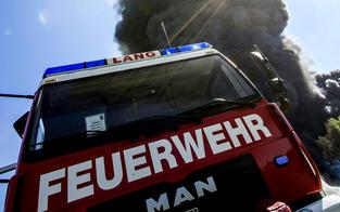 Brand in der Volksschule Hainburg