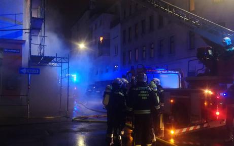 Großeinsatz: Kellerbrand im 10. Bezirk