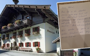 Tiroler Wirt bekommt homophoben Hass-Brief