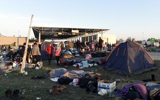 Schon 100.000 Flüchtlinge im Land versorgt