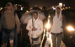 3.000 Flüchtlinge pilgern zu Fuß nach Österreich