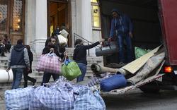 Flüchtlinge verlassen Akademie