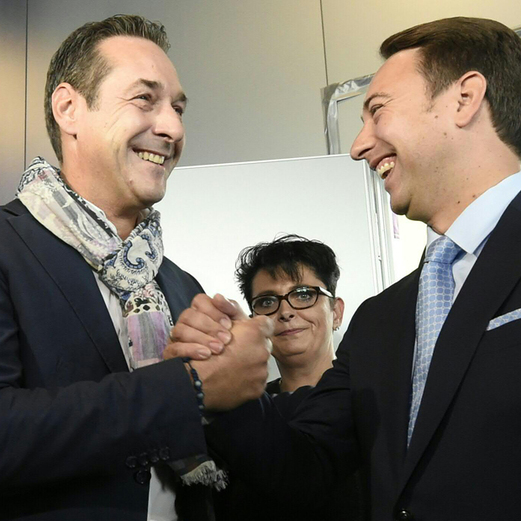 """FPÖ jubelt über """"historisches Ergebnis"""""""