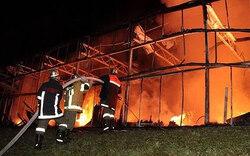 Großbrand in Gärtnerei im Zillertal