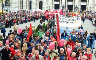 Chaos in Wien: Wochenende der Sperren und Demos