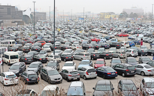 SCS Parkplatz
