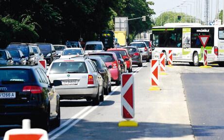 Stau-Chaos um neue Baustelle Klosterneuburg