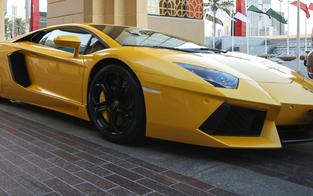 40.000-€ Strafe für Wiener Lamborghini-Fahrer