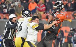 NFL-Skandal! Star mit Helm verprügelt