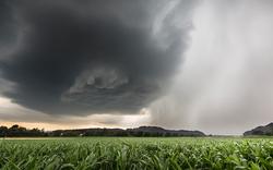 Unwetter ziehen über Ost-Österreich