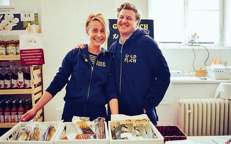 Restaurant Goldfisch eröffnet im Achten