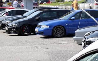 Autofans aus ganz Österreich bei inoffiziellen GTI-Treffen