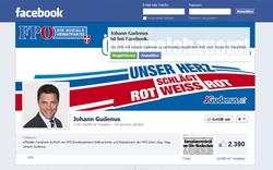 Nach Strache: Facebook von Gudenus gesperrt