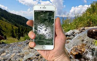 """""""Find my Phone"""" rettet Wanderin im Pinzgau"""