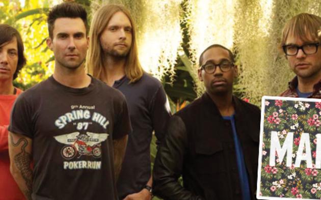 """Maroon 5 mit """"Maps"""""""