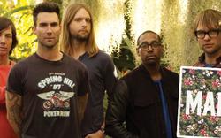 "Maroon 5 präsentieren Single ""Maps"""