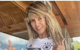 Heidi Klum: Nackt-Posting für deutsches Team