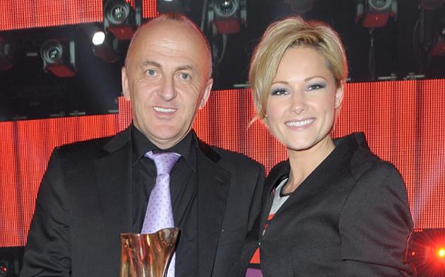 Helene Fischer mit Manager Uwe Kanthak