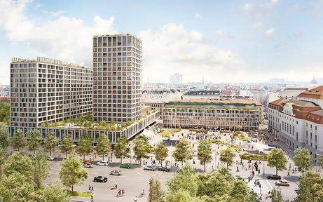Heumarkt: UNESCO-Bericht bringt Turm-Bau zum Wackeln