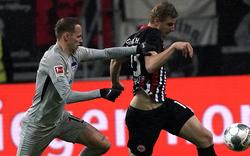 3:1 Frankfurt siegt in Berlin gegen Hertha BSC