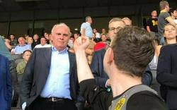 BVB-Fan zeigt Hoeneß den Stinkefinger