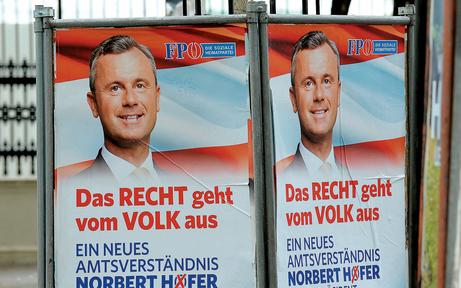 Unbekannte stahlen zehn FPÖ-Wahlständer