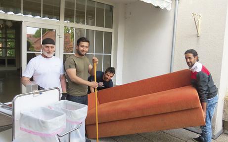 Horn rüstet sich für Flüchtlinge