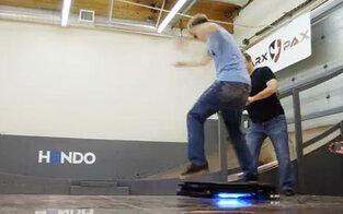 Skate-Star testet schwebendes Board