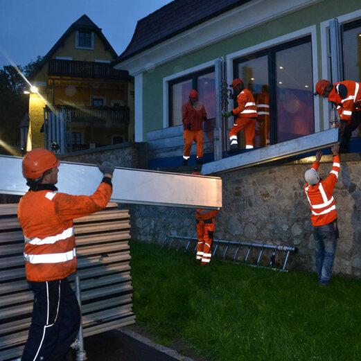 Alle Bilder: Hochwasser in Österreich