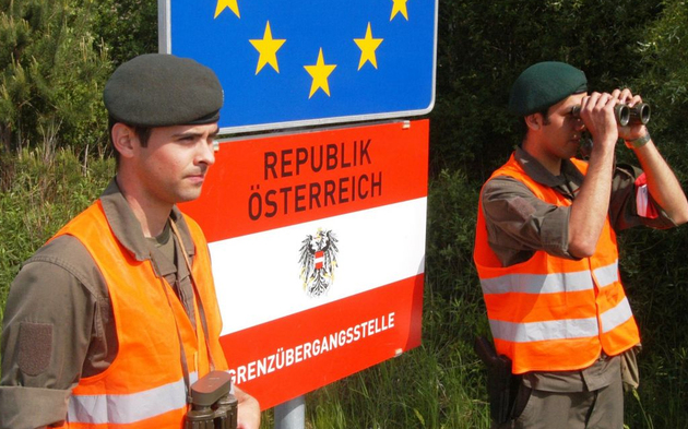Bundesheer-Grenzübergang