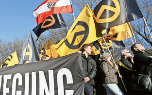 Rechte Demo: Gewaltausbruch am Kahlenberg droht