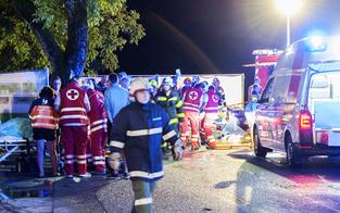 Festzelt im Innviertel eingestürzt: Zwei Tote