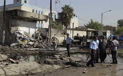 Autobombe erschüttert Bagdad