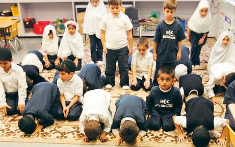 Konten-Öffnung im Islam-Kindergarten