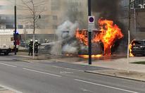 Wien: Feuer-Inferno in der Seestadt