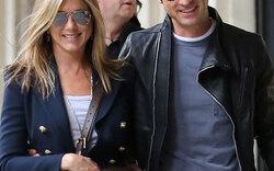 Aniston & Theroux: Schmuse-Ausflug nach Paris