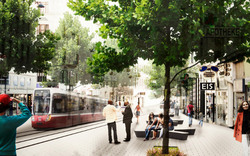 'Die autofreie Landstraße wird Koalitionsfrage'
