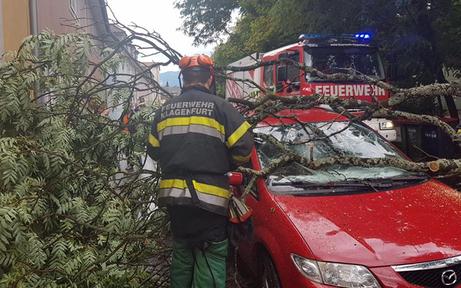 Mega-Unwetter fegte über ganz Kärnten hinweg