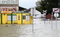 Wien: Hochwasser erreicht Höhepunkt