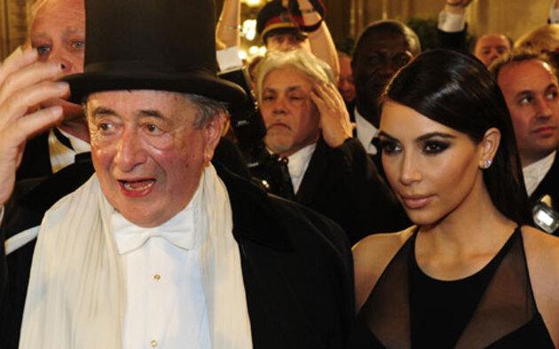 Kim Kardashian & Richard Lugner beim Opernball 2014