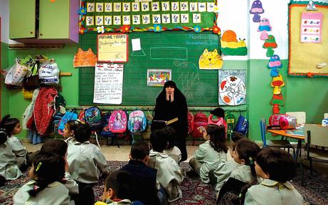 Tschetschenen-Quartier im Kindergarten?