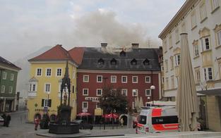 Großbrand mitten in Kufsteiner Altstadt