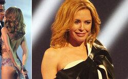 Kylie Minogue jammert über hängenden Po