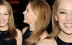 Kylie Minogue: Erstarrt in Cannes