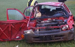 Neugeborenes überlebt Pkw-Crash unverletzt