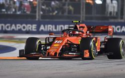 Leclerc holt Pole vor Hamilton in Singapur