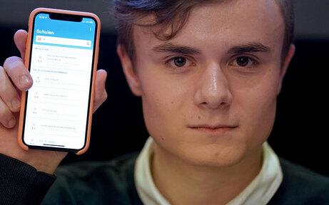 Hass gegen Lehrer-App: Drama um Erfinder
