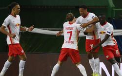 2:1 - RB Leipzig schafft Einzug ins Halbfinale